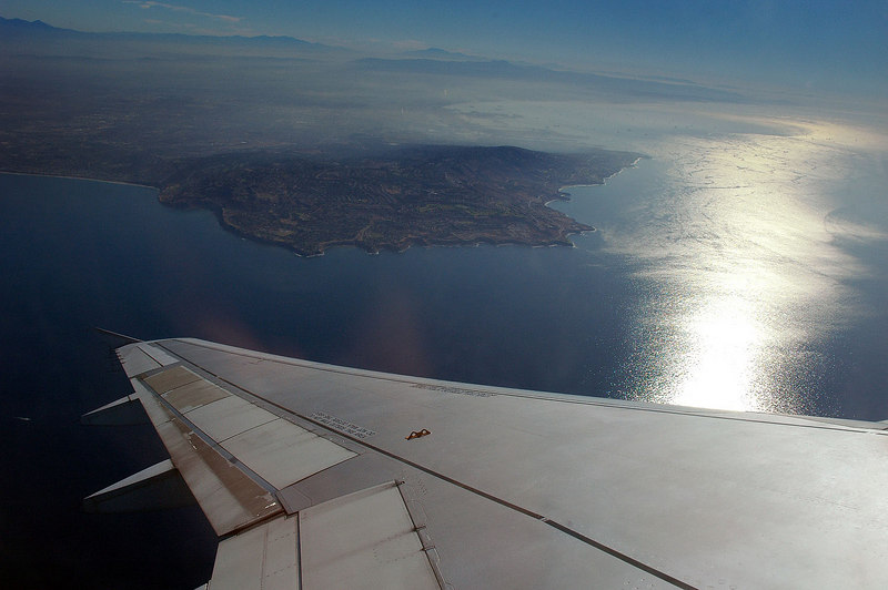 View of Palos Verdes as we turn towards the east.