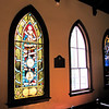 Stained Glass Window - 1887 Confederate War Memorial Chapel, Richmond, VA