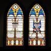 Stained Glass Windows - 1887 Confederate War Memorial Chapel, Richmond, VA