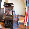 Pulpit - 1887 Confederate War Memorial Chapel, Richmond, VA