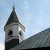 Steeple on 1887 Confederate War Memorial Chapel, Richmond, VA