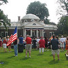 Joining the Crowds On Monticello's West Lawn
