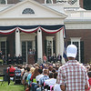 Scenes On Monticello Grounds During The Event