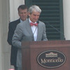 Sam Waterston Graciously Begins His Soon-to-Be Standing Ovation Speech