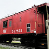 Caboose at Seaboard Station Railroad Museum - Town of Suffolk, VA  4-9-11