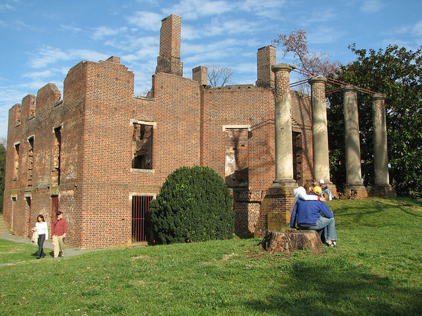 Barboursville, VA - Vineyard and Ruins