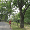 Ben Taking Pictures on the Entrance Road - Ash Lawn Highland - James Monroe's Home - Charlottesville, VA  9-3-10