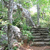 Stone Stairway - Greenstone Overlook Trail - Milepost 9 Blue Ridge Parkway  9-3-10
