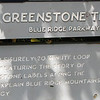 Signage of Greenstone Overlook Trail - Milepost 9 Blue Ridge Parkway  9-3-10