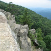 Blue Ridge Parkway - Raven's Roost Overlook Rock Outcroppings