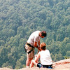Ravens Roost - Repellers Gearing Up for Descent on Blue Ridge Parkway  8-25-01