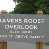 Blue Ridge Parkway - Raven's Roost Overlook