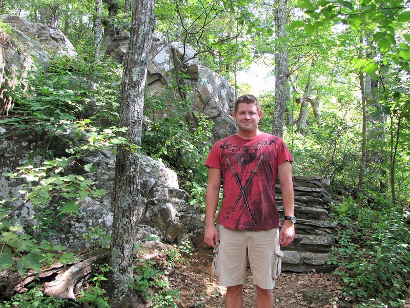 Ben Loves Rocky Mountain Areas - Greenstone Overlook Trail - Milepost 9 Blue Ridge Parkway  9-3-10