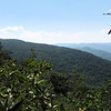 Far Views from Greenstone Overlook Trail - Milepost 9 Blue Ridge Parkway  9-3-10