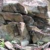 Rocks on Greenstone Overlook Trail - Milepost 9 Blue Ridge Parkway  9-3-10