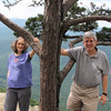 Donna and Randal at Ravens Roost - Blue Ridge Parkway  9-3-10