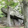Balancing Rock at Greenstone Overlook - Milepost 9 Blue Ridge Parkway  9-3-10
