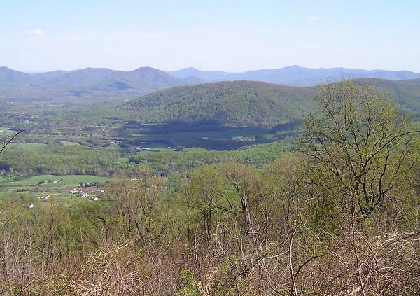Blue Ridge Mountains & Blue Ridge Parkway - South of I-64/East of I-81