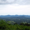 Blue Ridge Parkway Overlook on Rockfish Valley (Nelson County), Virginia