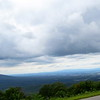 Blue Ridge Parkway - Clouds Overlooking Waynesboro (Augusta County), Virginia