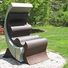 The Chair Sculpture - Boxerwood Nature Center and Woodland Gardens, Lexington, VA