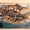 Picture of Fort Monroe in 1861- Casemate Museum, Fort Monroe - Hampton, VA