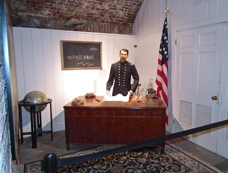 Artillery School Teacher - Casemate Museum, Fort Monroe - Hampton, VA