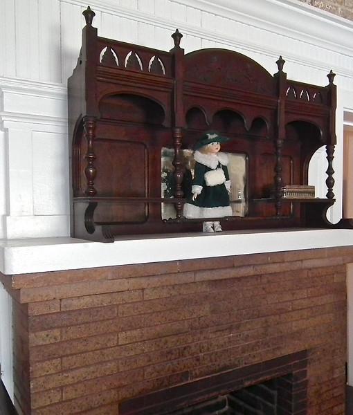 Jefferson Davis' Quarters in Carroll Hall - Casemate Museum, Fort Monroe - Hampton, VA