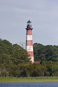 Lighthouse on Chicoteague Island