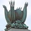 Part of The Jefferson Davis Memorial - Monument Avenue - Richmond, VA<br /> On the post of the memorial.