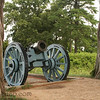 A cannon at Colonial National Historic Park in Virgina.
