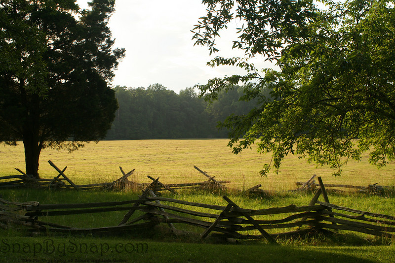 The site of the British surrender at in Colonial National Historic Park in Virgina.