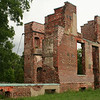 Ruins in Jamestown at Colonial National Historic Park in Virgina.