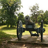 An American cannon from he revolutionary war in Colonial National Historic Park in Virgina.