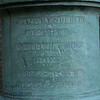 A canon inscribed to let all know the British surrendered in Colonial National Historic Park in Virgina.