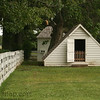 A small shed on a farm in Colonial National Historic Park in Virgina.