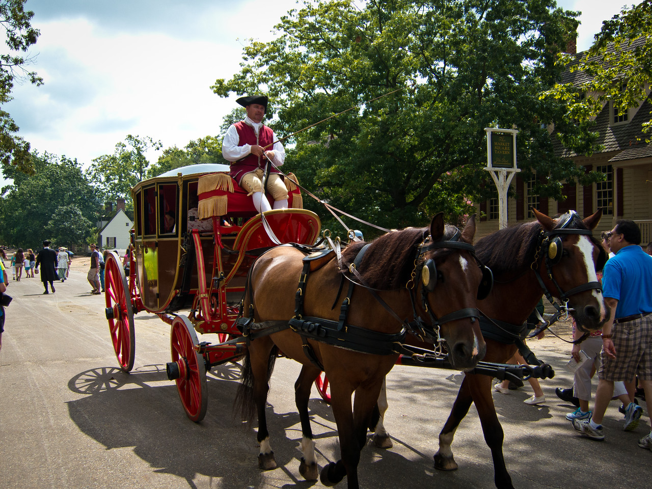 Carriage Ride at Colonial Williamsburg