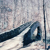 Bridge at Crabtree Falls - Near Tyro, VA  3-25-01