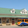 Historic Train Station - Historical Orange, Virginia - 9/22/12<br /> This is also Orange County's Visitors Center.  The train station was built in 1909-1910 in a Colonial Revival style.  Passenger service was discontinued in the early 1970's.  The station was renovated in 1997.