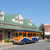 TOOT Bus at Train Station - Historical Orange, Virginia - 9/22/12<br /> TOOT stands for Town of Orange Transit.  Fare around town is 25 cents each time you board.  You can also ride from Orange to Gordonsville, VA for 50 cents (9 miles).
