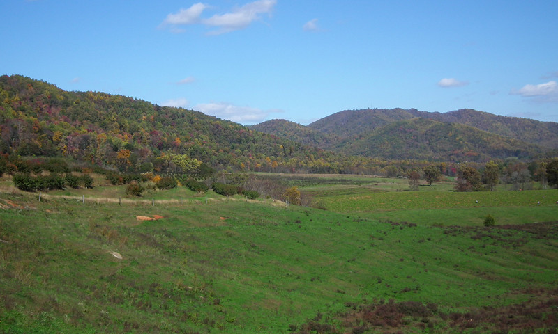Mountain Views At Drumheller's Apple Harvest Festival - Lovingston, VA  10-20-12