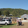 Arriving at Drumheller's Apple Harvest Festival - Lovingston, VA  10-17-10