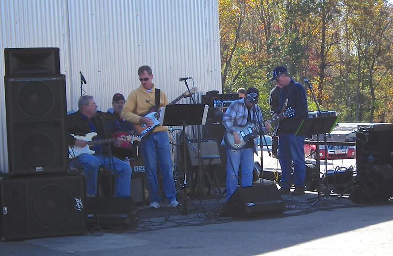The Music - Drumheller's Apple Harvest Festival - Lovingston, VA  10-20-12