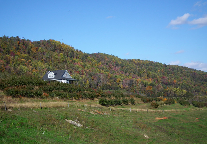 House With A Gorgeous View - Drumheller's Apple Harvest Festival - Lovingston, VA  10-20-12