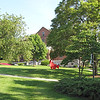 Northlawn With Dining Hall in View - Very Peaceful and Green Campus - Eastern Mennonite University - Harrisonburg, VA