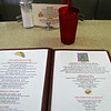Menu at Walker's Diner - Farmville, VA