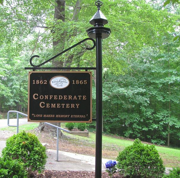 Confederate Cemetery 1862 to 1865 - Farmville, VA