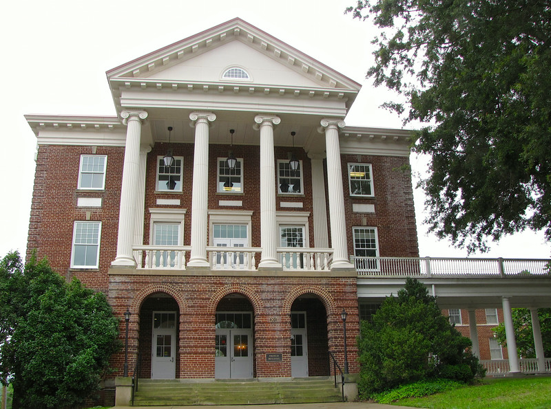 French Building - Longwood University - Farmville, VA<br /> French Hall is part of the Colonnades Complex. French was built in 1923 and houses 105 upper division students in suite-style environment.