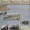 Signage About High Bridge Trail State Park - Farmville, VA