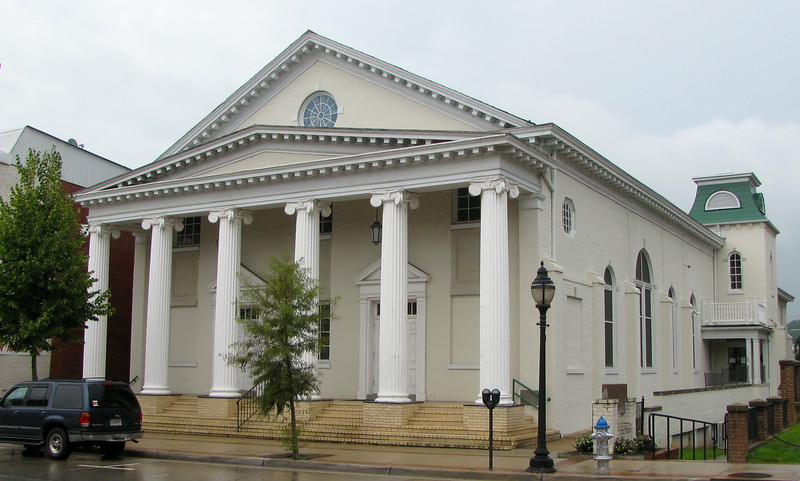 Farmville Baptist Church - Est. 1836<br /> The first structure was built and formally dedicated on November 25, 1836.  A second church building was built (1855-56) on the present site at 132 Main Street.  On September 1, 1885 two women were formerly included on a church committee. Prior to that date all church business had been conducted by the male members.  The congregation had outgrown the church space, and another building was constructed (1912-14). The pipe organ, which is still in use, was installed.